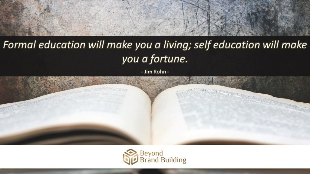 Self Education and Formal Education